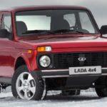 Внедорожник Lada 4x4 лидер экспорта легковых автомобилей из России