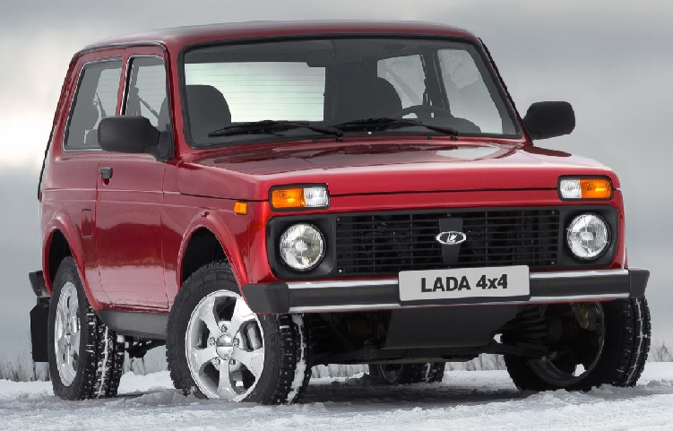 Lada 4x4 лидер автоэкспорта