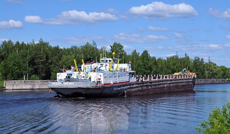 Грузоперевозки внутренним водным транспортом