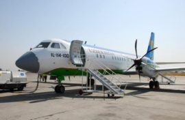 Uzbekistan Airways откажется от эксплуатации самолетов Ил-114-100
