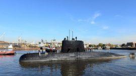 Аргентинская подводная лодка San Juan, 2014 год