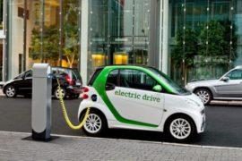 Количество электромобилей и гибридов в Европе