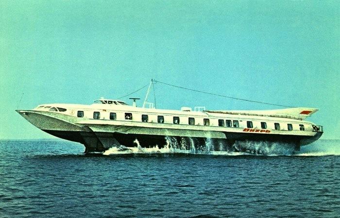 «Вихрь» — самая совершенная модель корабля