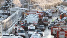 В Анкаре при аварии поезда ранены по меньшей мере 20 человек