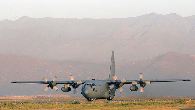 транспортный самолет-заправщик КС-130