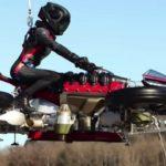 Летающий ховербайк-трансформер Lazareth поднялся в воздух