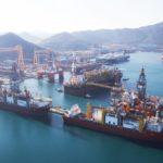 Судостроительного гиганта создали в Южной Корее