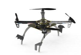 """Ученые придумали для дронов """"когти"""", помогающие экономить заряд батареи"""