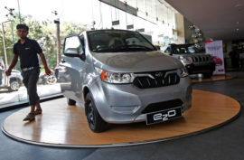 Электромобиль Mahindra e2o