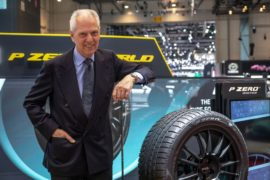 Pirelli показала свои разработки на автосалоне в Женеве