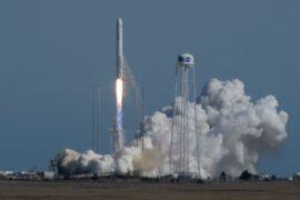 Ракета Antares отправляет грузовой корабль к МКС