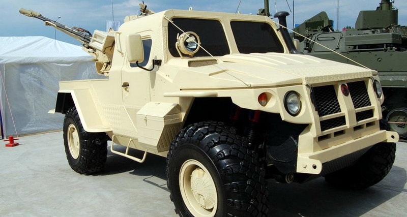 бронеавтомобиль «Самум»