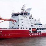 Китайский полярный ледокол «Сюэлун-2» вышел в свое первое плавание к Южному полюсу